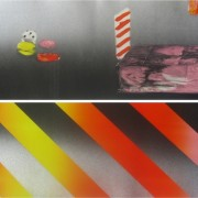 """Boo's, Monotype, 16 x 22"""", 2014"""